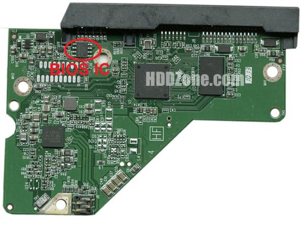 2060-771945-000 WD Placa de Circuito Impresso Disco Rígido