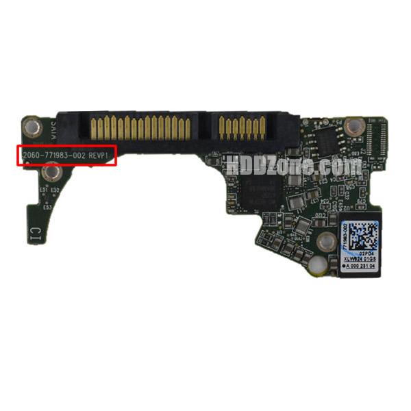 2060-771983-002 WD Placa de Circuito Impresso Disco Rígido